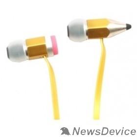 Наушники HARPER HV-608 Yellow Чувствительность: 100dB±3dB; Частотный диапазон: 20 Гц~20 кГц; Сопротивление: 16 Ом
