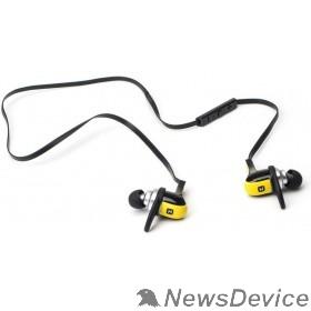 Наушники HARPER HB-308 yellow Микрофон; Регулятор громкости; Время непрерывной работы - более 5 часов; Время зарядки - около 1 часа