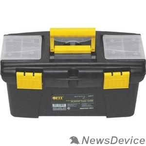 """Ручной инструмент FIT РОС Ящик для инструмента пластиковый 12"""" (32 х 17,5 х 16 см) 65571"""