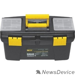 """Ручной инструмент FIT РОС Ящик для инструмента пластиковый 16"""" (41 х 22 х 19,5 см) 65572"""