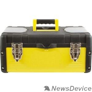 """Ручной инструмент FIT IT Ящик для инструмента пластиковый 16"""" (40 х 20 х 19 см) металл.замки, стенки стальные 65591"""