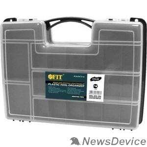 Ручной инструмент FIT РОС Ящик для крепежа (органайзер) двухсторонний (29,5 х 22 х 7,6 см) 65646