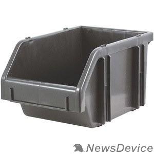 Ручной инструмент FIT РОС Лоток для крепежа пластиковый черный 190х310х490 мм 65696
