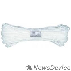 Шнуры и фалы КУРС БЕЛ Фал капроновый плетеный 16-ти прядный с сердечником  6 мм х 20 м, р/н= 450 кгс 68416