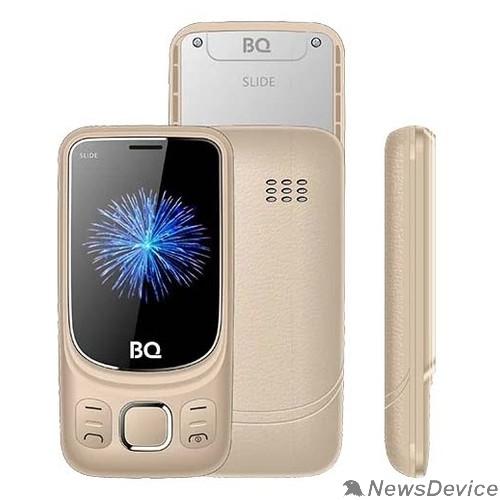 Мобильный телефон BQ-2435 Slide Золотой