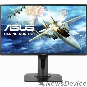 """Монитор ASUS LCD 24.5"""" VG258QR черный TN FreeSync 1920x1080 1(0.5)мс 165Hz 16:9 400cd 1000:1 170/160 HDMI1.4 DisplayPort1.2 DVI 2x2W 90LM0453-B01370"""