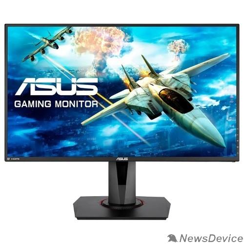 "Монитор ASUS LCD 27"" VG278QR черный TN 1920x1080 165Hz 0.5ms 400cd 1000:1 170/160 DisplayPort HDMI DVI 2Wx2 90LM03P3-B01370"