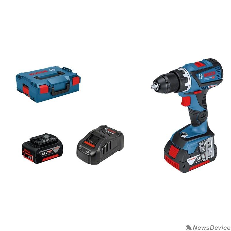 Дрель, Шуруповерт Bosch GSR 18V-60 C,2x5,0Ач L-B 06019G1100  18 В, 1900 об/мин, 5.0 Ач, чемодан, 2 акк, ЗУ