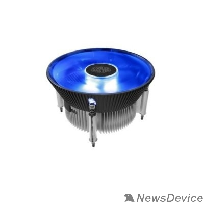 Вентилятор Cooler Master for Intel I70C PWM  (RR-I70C-20PK-R1) Intel 115*, 95W, Blue LED Fan, AlCu, 4pin