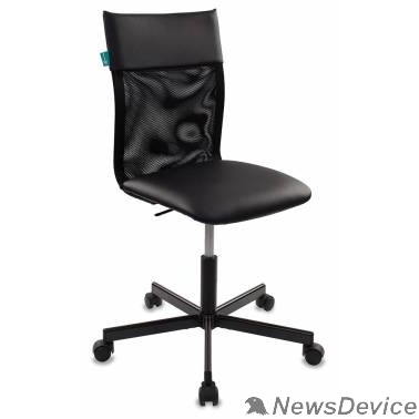 Офисное кресло или стул Кресло Бюрократ CH-1399/BLACK спинка сетка черный искусственная кожа крестовина металл 441871