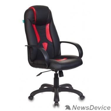 Офисное кресло или стул Кресло игровое Бюрократ VIKING-8/BL+RED черный/красный искусственная кожа 1078867