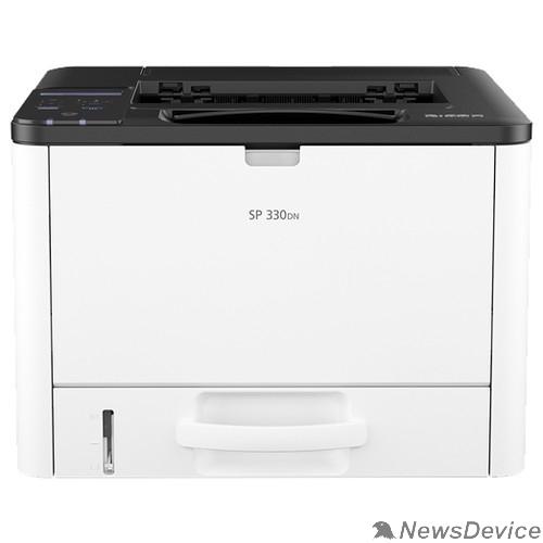 Принтер Ricoh SP 330DN Лазерный принтер, A4, 128Мб, 32стр/мин, дуплекс, PS, LAN, старт.картр.1000стр.(408269)