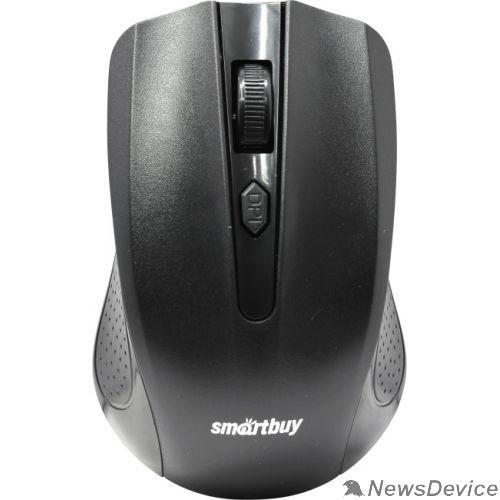 Клавиатуры, мыши Мышь беспроводная Smartbuy ONE 352 черная  SBM-352AG-K