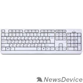 Клавиатура Клавиатура SVEN KB-C2200W белая беспроводная SV-016340