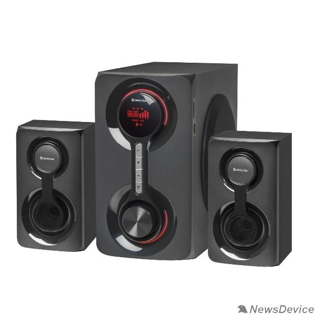 Колонки Defender Акустическая 2.1 система Tornado 60Вт, Bluetooth, FM/MP3/SD/USB 65592