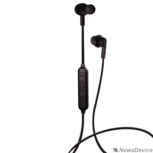 Наушники Perfeo наушники внутриканальные с микрофоном беспроводные TYRO чёрные PF_A4298