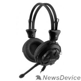 Наушники A4Tech HS-28 черный 1.8м мониторы оголовье (HS-28 (BLACK)) 567947