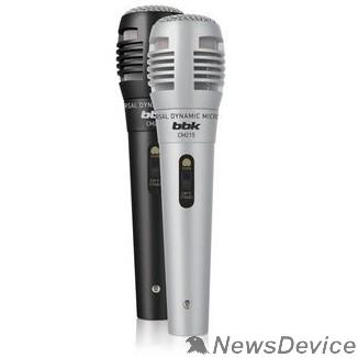 Наушники, микрофоны BBK Микрофон BBK CM215 черный/шампань