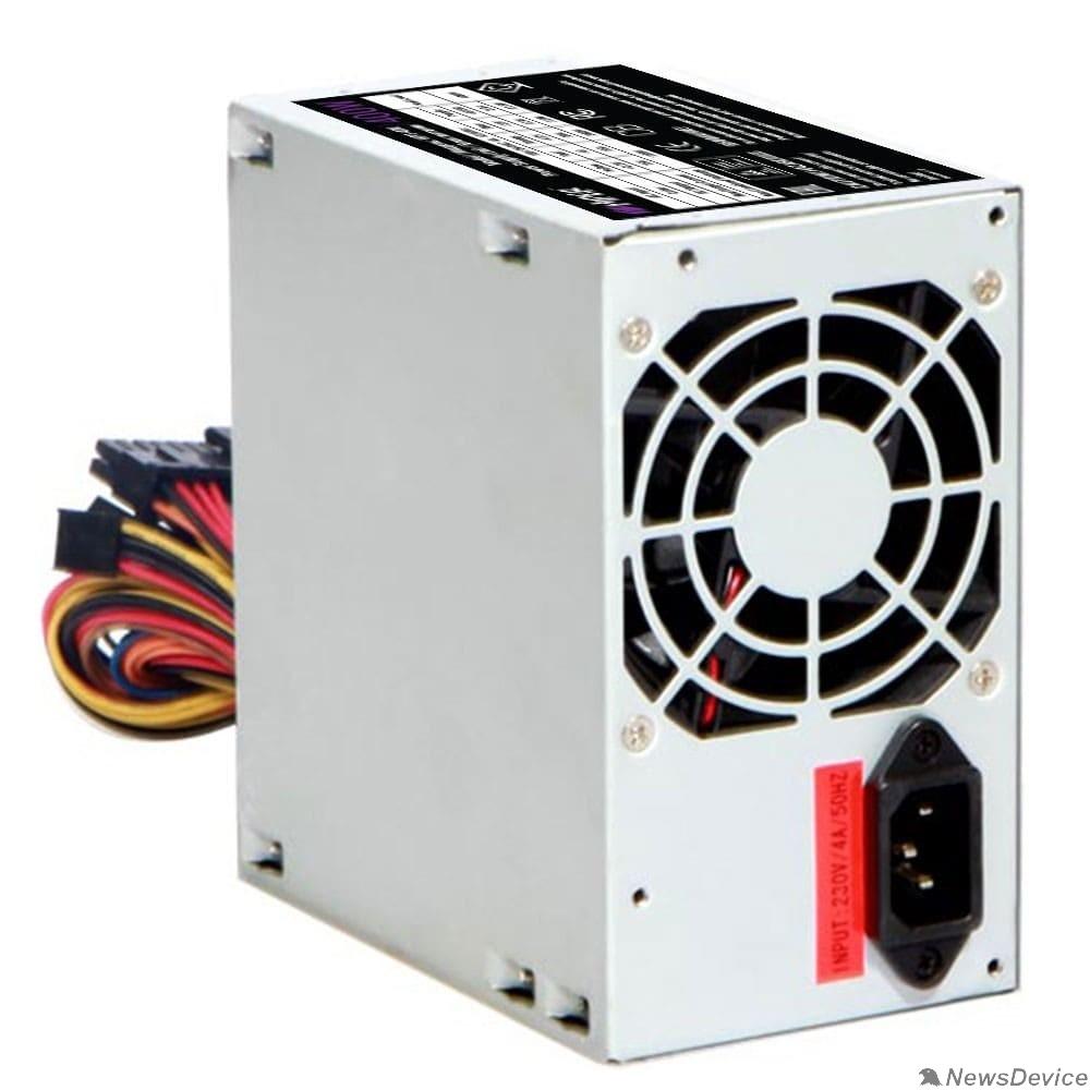 блок питания HIPER Блок питания HPT-400 (ATX 2.31, peak 400W, Passive PFC, 80mm fan, power cord) OEM