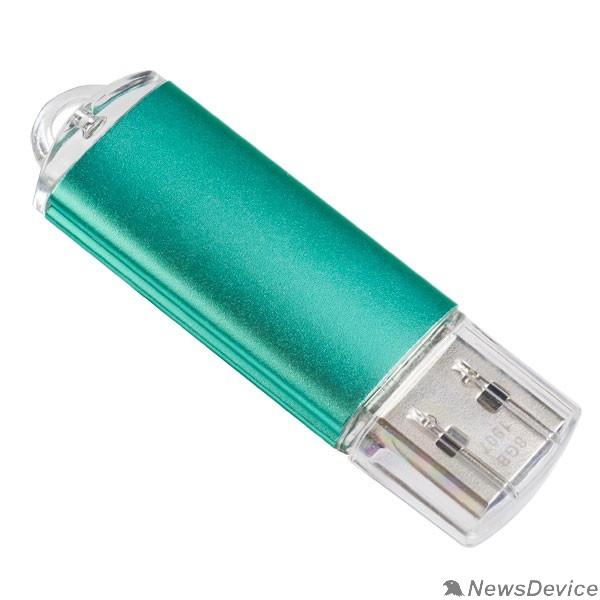 Носитель информации Perfeo USB Drive 4GB E01 Green PF-E01G004ES