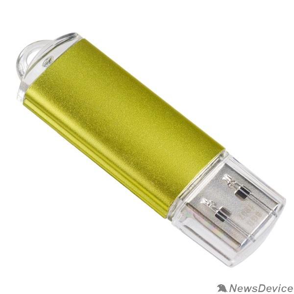 Носитель информации Perfeo USB Drive 8GB E01 Gold PF-E01Gl008ES