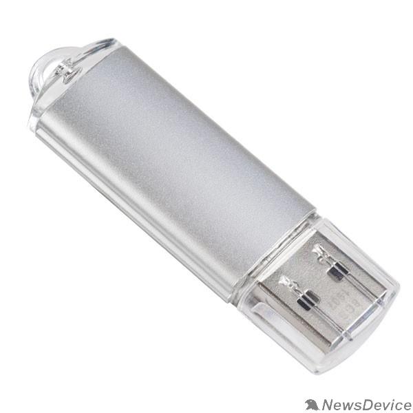 Носитель информации Perfeo USB Drive 16GB E01 Silver PF-E01S016ES