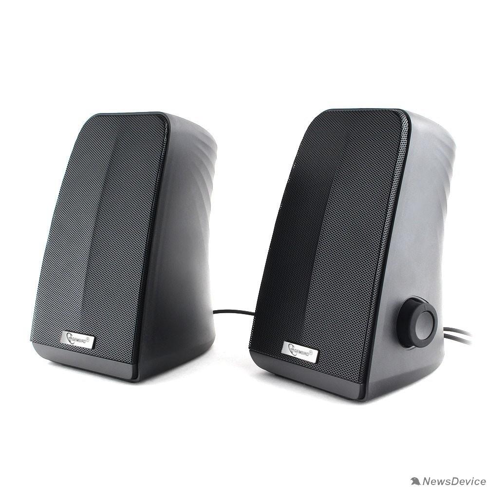 Колонки Gembird SPK-505, черный, 10 Вт, рег. громкости, USB-питание