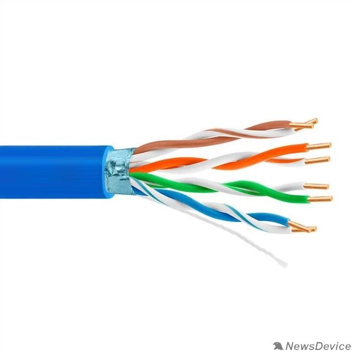 Кабель 5bites FS5525-305B-BL Кабель Express FTP / SOLID / 5E / 24AWG / COPPER / PVC / BLUE / 305M