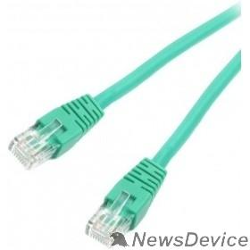 Коммутационный шнур Cablexpert Патч-корд UTP PP6U-1M/G кат.6, 1м, литой, многожильный (зеленый)