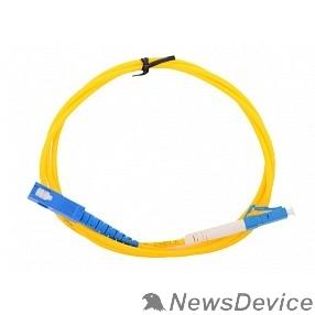 Оптоволоконный кабель  VCOM VSU302-1M Оптический шнур Vcom, LC-SC,UPC,одномодовый,Simplex,<VSU302-1M>