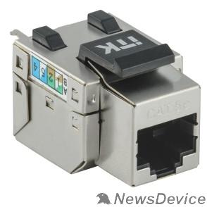 Патч-корды, Патч-панели ITK CS1-1C06F-11 Модуль Keystone Jack кат.6FTP 110IDC 90град. розет.