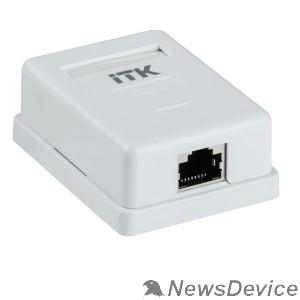 Патч-корды, Патч-панели ITK CS2-1C06F-12 Настенная инф. розетка RJ45 кат. 6 FTP 1-порт