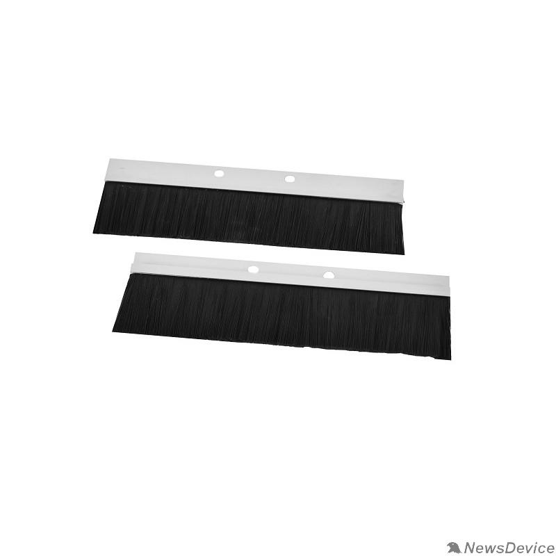 Аксессуар ЦМО Комплект щеточного ввода в шкаф, универсальный, цвет черный КВ-Щ-55.210А-9005