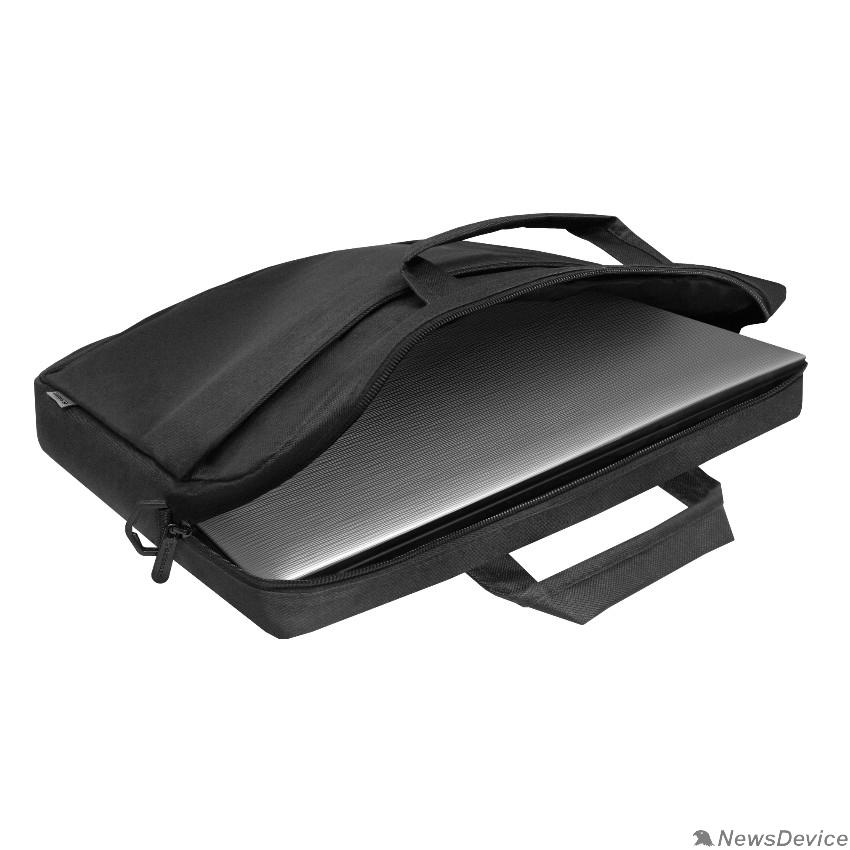 Сумка для ноутбука Сумка для ноутбука Defender Monte 17'' черный, органайзер (26065)