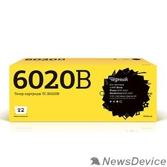 Расходные материалы T2 106R02763 Картридж (TC-X6020B) для Xerox Phaser 6020/6022/WorkCentre 6025/6027 (2000k) black