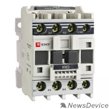 EKF Контакторы модульные и малогабаритные EKF ctr-s-32-220 Контактор КМЭ малогабаритный 32А 220В 1NO EKF PROxima