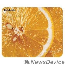 "Коврики Defender Коврик для мыши Juicy sticker , ""Фрукты"" 220х180х0.4мм 4 вида 50412"