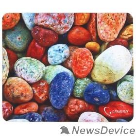 """Коврики Коврик для мыши Gembird MP-STONES, рисунок """"камни"""", размеры 220*180*1мм, полиэстер+резина"""