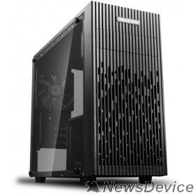 Корпус Deepcool MATREXX 30  mATX, Black, Стекл. боковая панель, Без БП