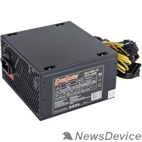 Блоки питания Exegate EX221638RUS-S Блок питания 500W Exegate 500NPXE(+PFC), ATX, black, 12cm fan, 24p+4p, 6/8p PCI-E, 4*SATA,3*IDE, FDD + кабель 220V с защитой от выдергивания