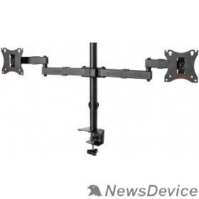 """Крепеж Arm Media LCD-T04 черный 15""""-28"""" макс.14кг настольный поворот и наклон верт.перемещ."""