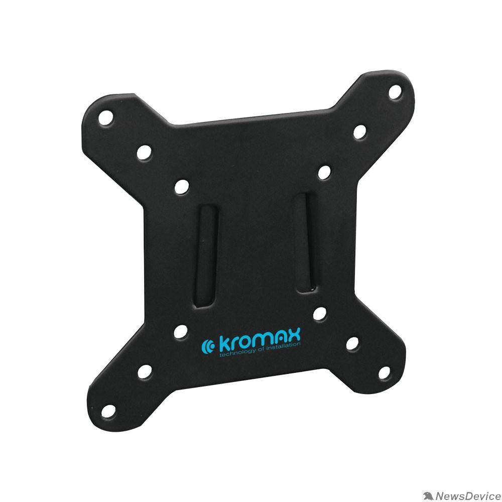 """Крепеж Кронштейн Kromax VEGA-3 new черный 15""""-32"""" макс.20кг настенный фиксированный"""