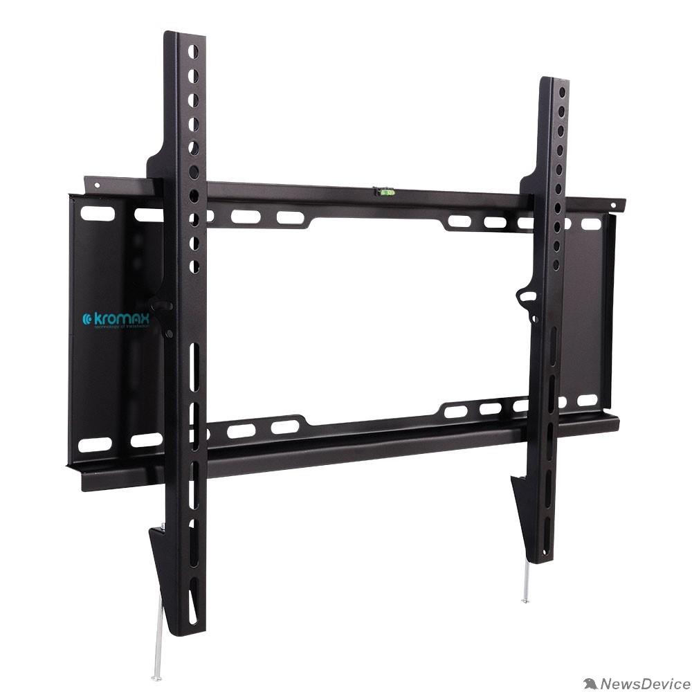 "Крепеж Kromax IDEAL-101 black для LED/LCD TV 32""-90"", max 20 кг, настенный, 0 ст свободы, от стены 30 мм, max VESA 600x400 мм"
