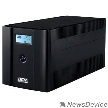 ИБП UPS PowerCom RPT-1500AP LCD Line-Interactive, 1500VA/900W, Tower, 4xSchuko, LCD, USB 1107535
