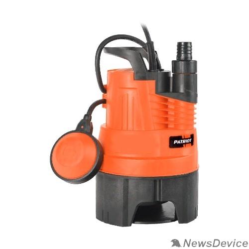 Насосы бытовые Насос дренажный PATRIOT F 350 315302626  /грязной воды, корпус - пластик, 300 Вт, 5000 л/час.