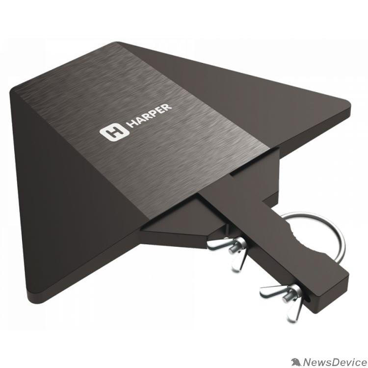 Антенны для цифровых приставок DVB-T2 HARPER ADVB-2128 Усиление: 30 dB; Сопротивление: 75 ; Коэффициент шума: 4,5 dB