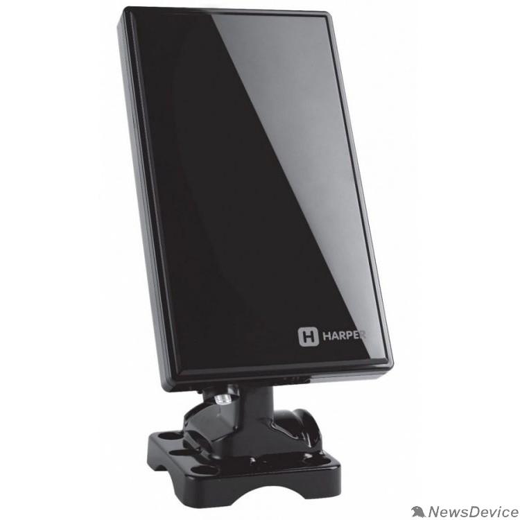 Антенны для цифровых приставок DVB-T2 HARPER ADVB-2430 Усиление: 28 dB; Сопротивление: 75 ; Коэффициент шума: 3 dB; Длина кабеля: 2,95 м