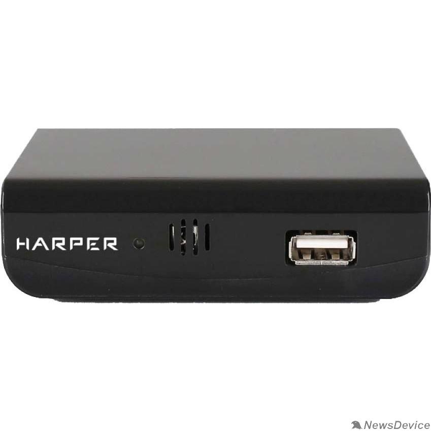 приставки  HARPER HDT2-1030 MStar 7T01; Разрешение видео: 480i, 480p, 576i, 576p, 720p, 1080i, Full HD 1080p; Поддерживаемые форматы мультимедиа: AVI, MKV, VOB, TS, MPG, MP4, H.264, FLV, 3GP, OGG, MP