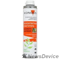 Чистящие средства Konoos KAD-400-А Бесконтактный очиститель с антибактериальным компонентом, 400мл