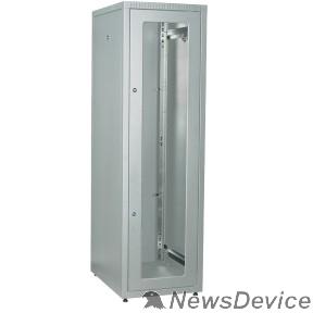 Монтажное оборудование ITK LE35-42U68-GM Шкаф LINEA E 42U 600х800мм двери 2шт стек. и метал. сер.